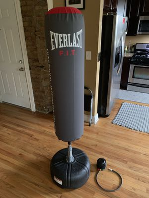 Everlast Punching Bag and Air Pump for Sale in Chicago, IL