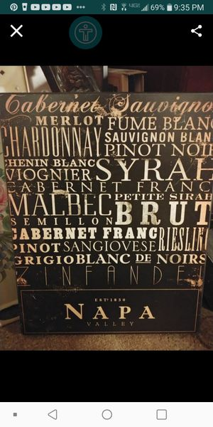 Napa Valley picture $5 for Sale in Fresno, CA