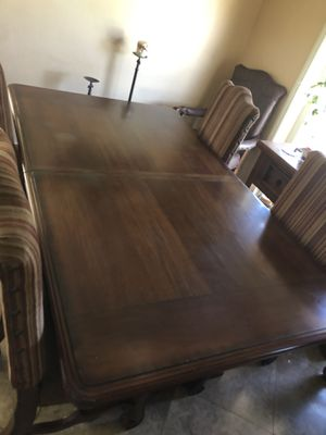 Dining table & 6 chairs $450 obo , 76 inc for Sale in Bakersfield, CA