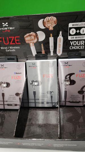 Fuze ghostek life ear buds for Sale in Kensington, MD