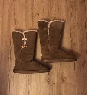BearPaw Women's Victorian High Suede Boots (Size 7) for Sale in Boulder, CO