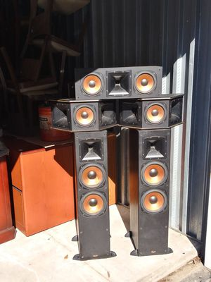 6-Klipsch Surround Theater Speaker system speakers for Sale in Clayton, NJ