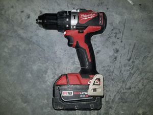 Milwaukee BrushlessI hammer drill for Sale in Austin, TX