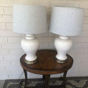 Pair Of Lamps for Sale in Phoenix, AZ
