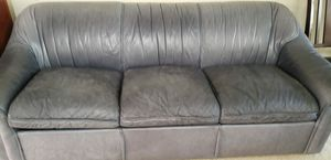 Sofa Bed Italian Style and Leather 3seats Sofa for Sale in Federal Way, WA
