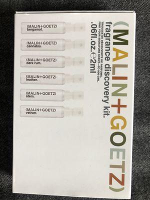 Malin + Goetz fragrance sampler for Sale in Chevy Chase, MD