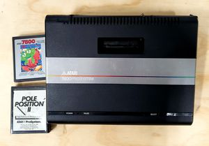 Atari 7800 System and Games untested - no power cable for Sale in Redding, CA