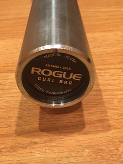 New Rogue Fitness Olympic Curl Bar for Sale in Claremont,  CA