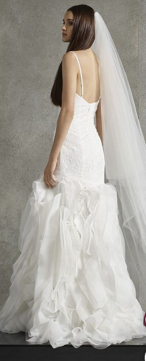 wedding dress, open box , never used , size 6 , $350.00 for Sale in Boston, MA