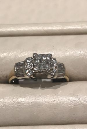 Engagement ring 14 k yellow gold for Sale in Fairfax, VA