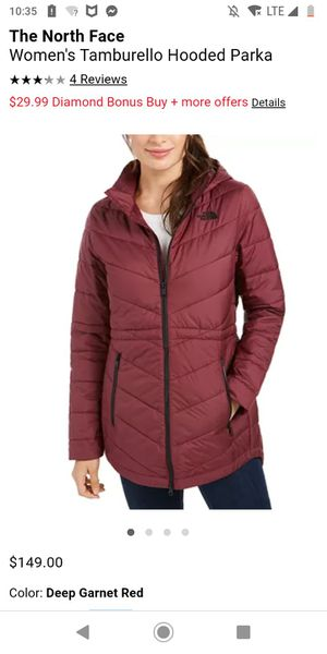 Xs northface parka for Sale in Portland, OR