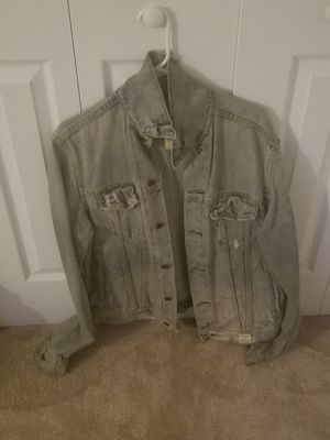 Men's Ambercrombie & Fitch Denim Jean Jacket Size Large for Sale in Fort Washington, MD