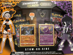 Pokemon Champions Path Stow On Side Gym Pin Collection Box for Sale in Sunnyvale, CA