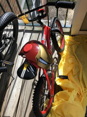 "Boys bike with helmet size 16"" for Sale in Norwood, MA"