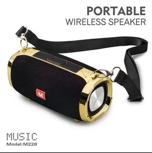 Black bluetooth speaker outdoor portable subwoofer wireless stereo speakers with straps 1500mAh 2x5W MP3 music player VS Mini Xtreme for Sale in Los Angeles, CA