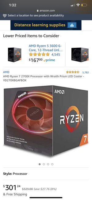 Ryzen 7 2700X for Sale in Macedonia, OH
