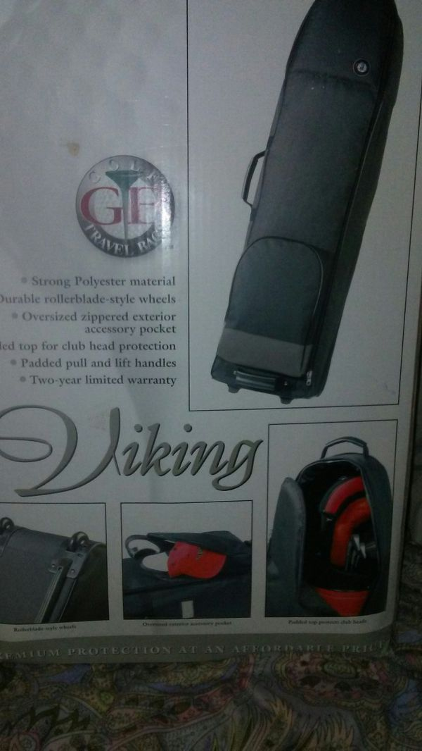New in box GB VIKING TRAVEL GOLF BAG