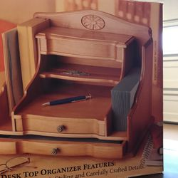 Solid Wood Desk Organizer for Sale in Brier,  WA