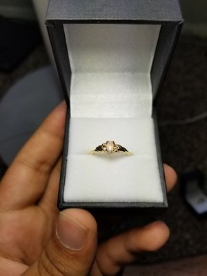 Diamond N Gold Ring for Sale in Dallas, TX