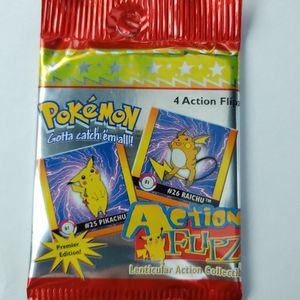 Pokemon Action Flips Unopened Pack for Sale in Clanton, AL