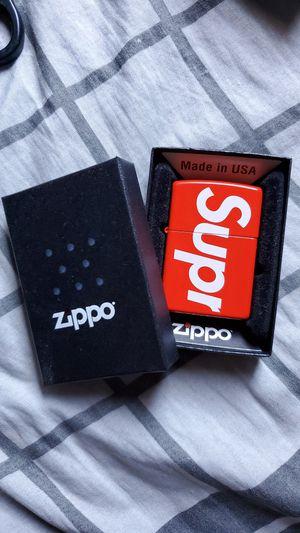 Supreme zippo for Sale in Fontana, CA