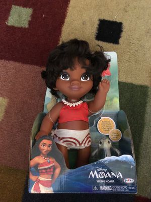 Moana bath time toy for Sale in Orlando, FL