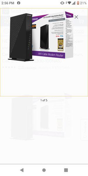 Wifi cabel modem for Sale in OLD RVR-WNFRE, TX