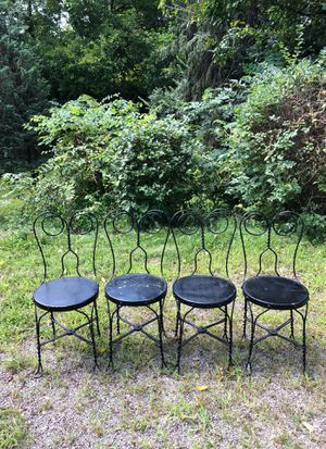 Antique Ice cream chairs for Sale in Pittsburgh, PA