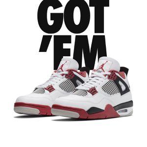 Jordan 4 Fire Red Size 10.5 for Sale in Pompano Beach, FL