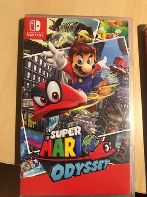 Super Mario Odyssey for Nintendo Switch for Sale in Durham, NC