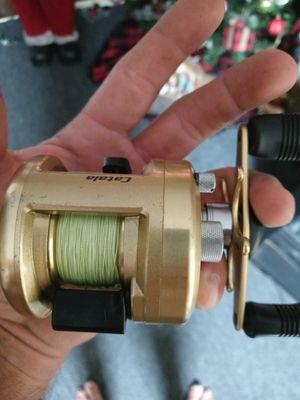 Shimano catala. Reel on custom rod for Sale in Orlando, FL