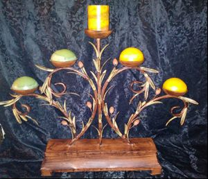 "Gorgeous Rustic 5 Arm Candelabra Candle Holder 27""hx33""w for Sale in Fort Worth, TX"