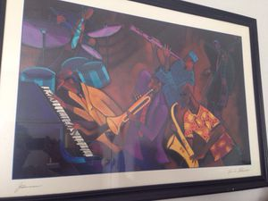 Fana Powell jazz framed picture for Sale in Taylorsville, UT