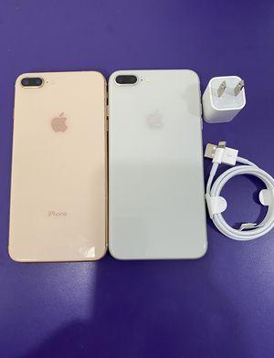 Factory unlocked apple iphone 8 plus 64 gb , store warranty $390 each for Sale in Medford, MA