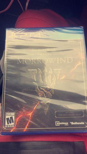 PlayStation 4 Elder Scrolls Murrowind PS4 for Sale in San Diego, CA