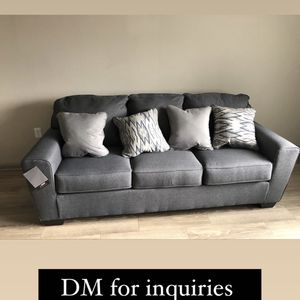 Ashley furniture blue couch for Sale in Dunwoody, GA