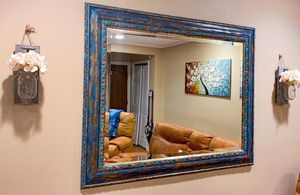 Vintage Hand Painted Framed Mirror for Sale in Verona, NJ