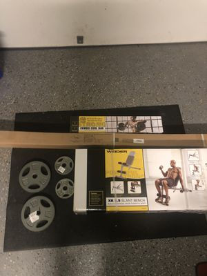 Weight lifting set for Sale in Derwood, MD