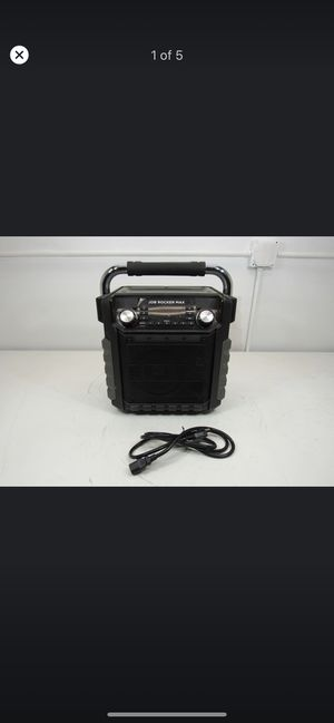 Ion Audio Job Rocker Max Bluetooth Speaker IPA81 - Bluetooth does not Connect for Sale in Santa Fe Springs, CA