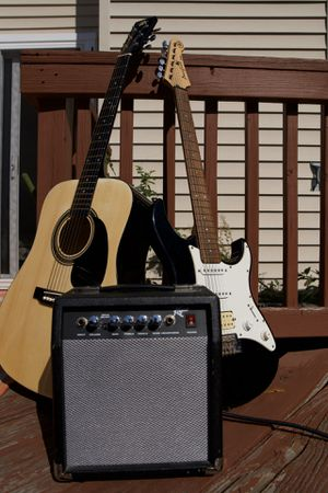 Acoustic & Electric Guitars with Amp for Sale in District Heights, MD