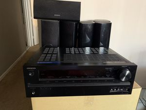 Onkyo Home theatre system for Sale in Baltimore, MD