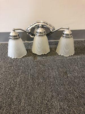 Triple light fixture for Sale in Rockville, MD