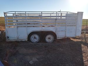 Stock trailer and car hauler for Sale in Kennedale, TX