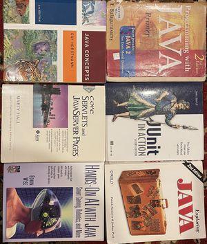 JAVA programming books for Sale in San Jose, CA