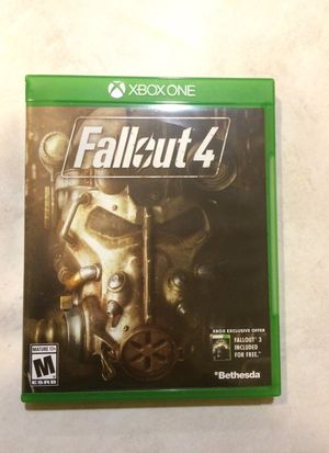 Fallout4 XBox One for Sale in Lake Stevens, WA