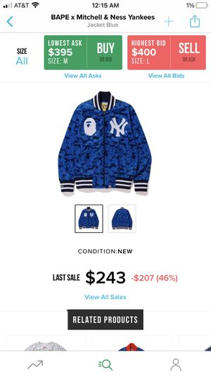 Bape jacket for Sale in New York, NY