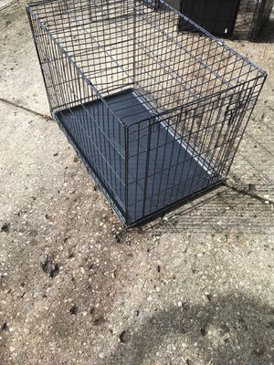 Large folding dog cage for Sale in Pickerington, OH