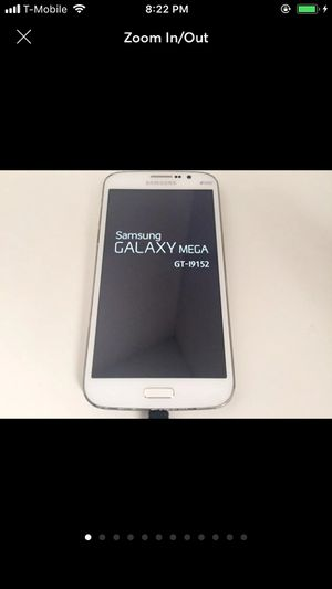 Samsung Galaxy Mega DUOS in white for Sale in Prairie View, IL