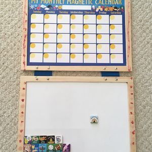 Melissa and Doug Wooden Magnetic Monthly Calendar for Sale in Fairfax, VA
