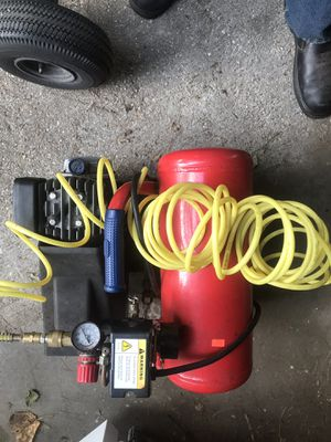Twin tank horizontal air compressor for Sale in Severn, MD